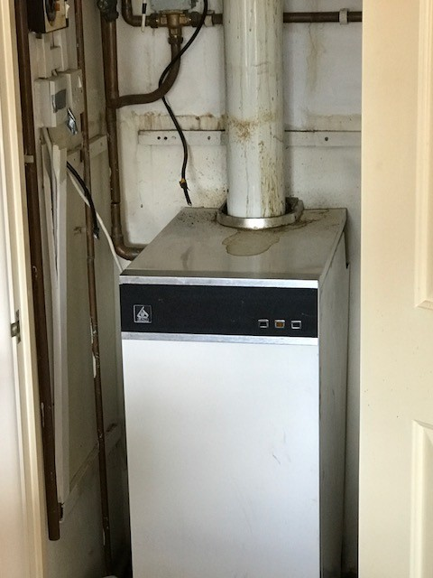 Regular Oil boiler replaced by Gas Combination boiler. - A. Stewart